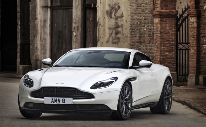 Aston Martin Db11 V8 2017 Testbericht