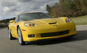 Corvette Z06 Autosiegerde