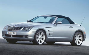 kühlergrill chrysler crossfire