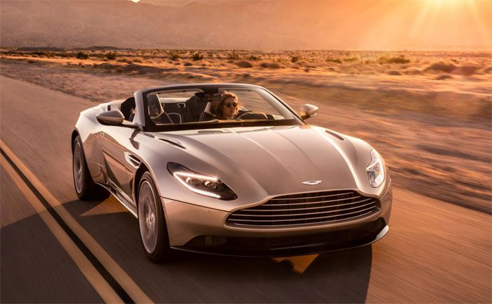 Aston Martin Db11 Volante Perfektes Sport Gt Cabrio