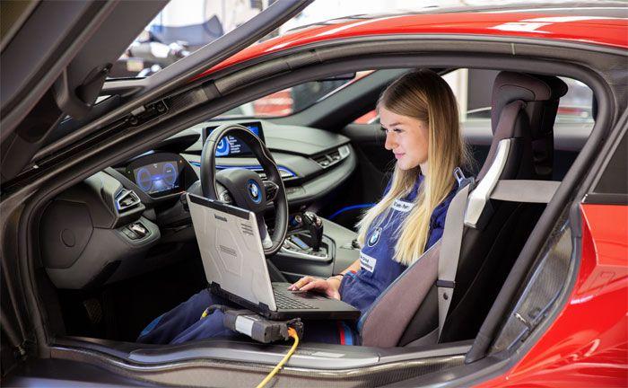 Bewerbungsstart bei der BMW Group