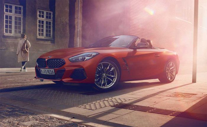 Der Neue Bmw Z4 Roadster Reloaded In Pebble Beach