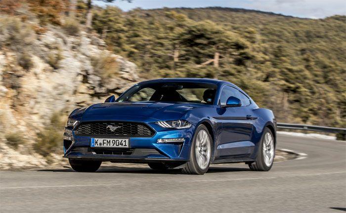 Ford Mustang Lightning Blue