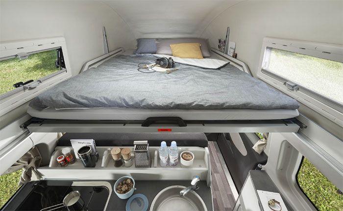 ford westfalia nugget plus long erstmals auf der cmt. Black Bedroom Furniture Sets. Home Design Ideas