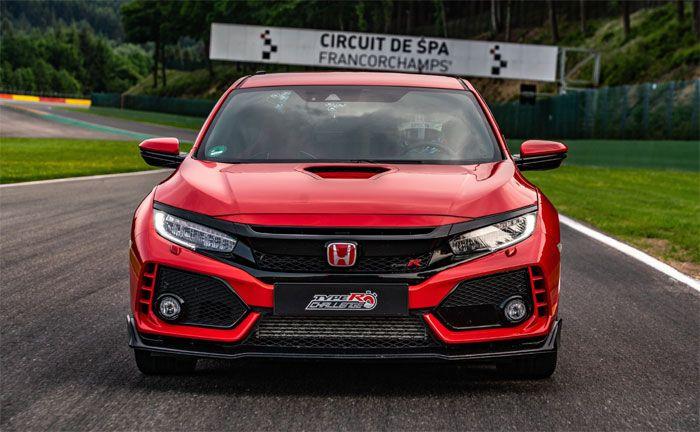 Kompaktsportler Honda Civic Type R beim Rundenrekord