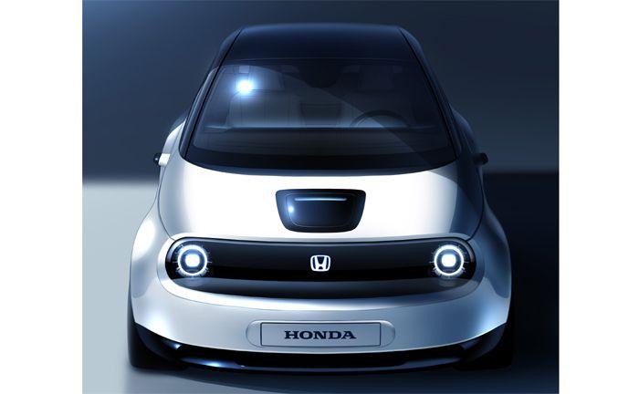Prototyp des neuen Honda Elektrofahrzeugs in Genf