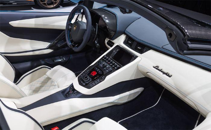 Lamborghini Aventador S Roadster Auf Der IAA