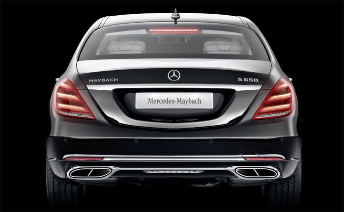 mercedes-maybach pullman: spitzenmodell in neuer optik
