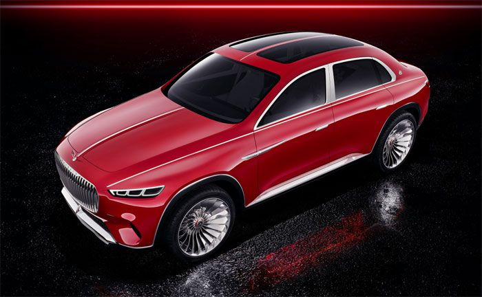 Maybach crossover studie high end limousine und suv for Mercedes benz high end suv