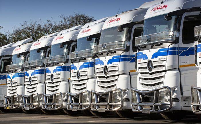 Großauftrag für Daimler Truck in Südafrika: Bakers SA Limited erhält über 90 Mercedes-Benz Actros