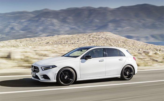 Mercedes Benz A Klasse 2018 Neu Jung Und Dynamisch