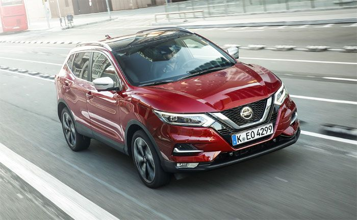 nissan qashqai crossover bekommt neue motoren. Black Bedroom Furniture Sets. Home Design Ideas