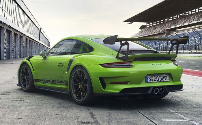 Porsche 911 Gt3 Rs Mit Weissach Paket Neuer Strassen Gt