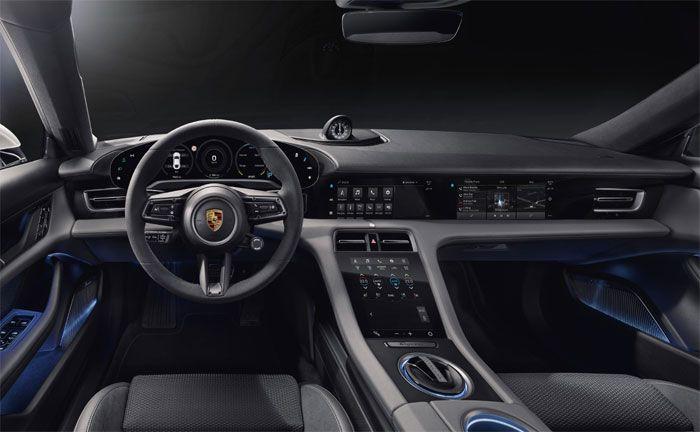 Porsche Taycan: Das Interieur