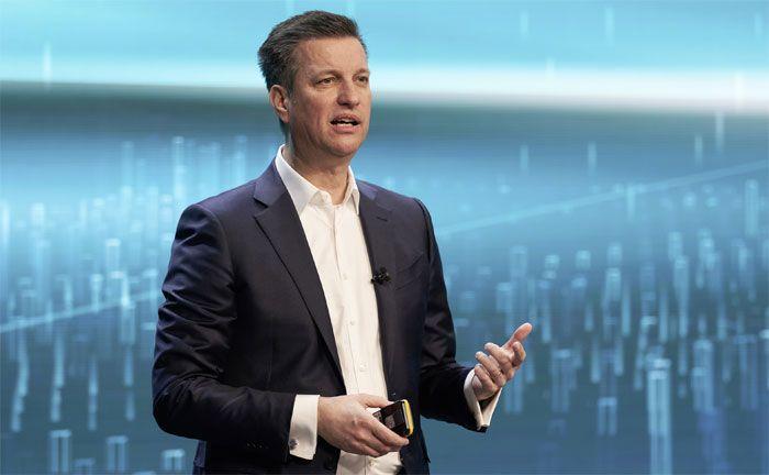 Thomas Schmall, Vorstand für den Geschäftsbereich Technik der Volkswagen AG und Vorstandsvorsitzender der Volkswagen Group Components (© Volkswagen AG)