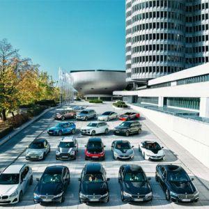 Elektrifizierte Fahrzeuge der BMW Group