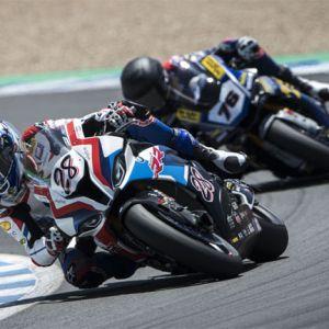 FIM Superbike World Championship, Jerez de la Frontera: Markus Reiterberger #28 (GER), BMW Motorrad WorldSBK Team, BMW S 1000 RR (BMW Motorrad Motorsport)