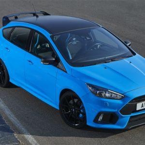 """Ford Focus RS mit neuem Ausstattungspaket """"Blue & Black"""""""
