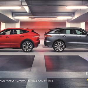 Jaguar E-PACE und Jaguar F-PACE