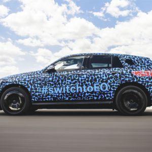 Mercedes-Benz EQC auf dem Weg zur Serienreife