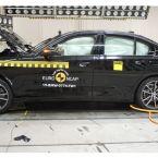 BMW 3er Limousine im Euro NCAP Crash & Safety Test