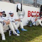 DTM Nürburgring: Joel Eriksson (SWE), #47 CATL BMW M4 DTM, BMW Team RBM, Philipp Eng (AUT), #25 ZF BMW M4 DTM, BMW Team RMR and Sheldon van der Linde (RSA), #31 Shell BMW M4 DTM, BMW Team RBM