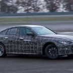 BMW i4 (Prototyp): Finale Kalibrierungsfahrten auf dem BMW Testgelände in Aschheim bei München