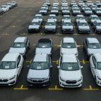 Der 3.000.000ste BMW aus Leipzig macht sich auf den Weg zum Kunden. Es ist ein BMW M240i Cabrio in Sunset Orange.