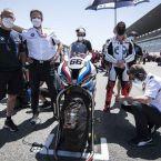 BMW Motorrad Motorsport, BMW Motorrad WorldSBK Team: Marc Bongers, BMW Motorrad Motorsport Direktor, Shaun Muir, Team Principal BMW Motorrad WorldSBK Team, BMW S 1000 RR Fahrer Tom Sykes