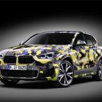 """BMW X2 mit exklusiver Camouflage-Folierung """"Digital Camo"""""""