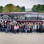 50 neue Auszubildende und neun duale Studierende sind im Neu-Ulmer Werk von Daimler Buses in ihr Berufsleben gestartet.