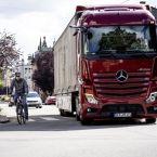 Neuer Mercedes-Benz Actros mit MirrorCam