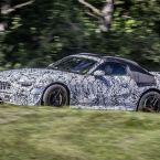 Mercedes-AMG SL Roadster Vorserienfahrzeuge bei Straßentests