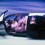 Mercedes-Benz F 100 im Januar 1991 auf der North American International Auto Show (NAIAS) in Detroit, USA