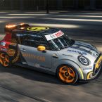 MINI Electric Pacesetter inspired by JCW wird FIA Formula E Safety Car