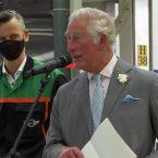 Prinz Charles besucht MINI-Werk Oxford