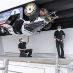 Spektakulärer Exponate-Tausch im Porsche Museum.