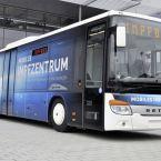 Setra S 415 LE business - Mobiler Impfbus