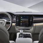 Volvo S90 mit Infotainment-System auf Android-Basis