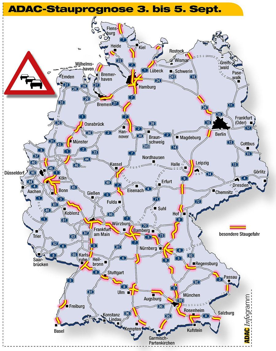 Staukarte München
