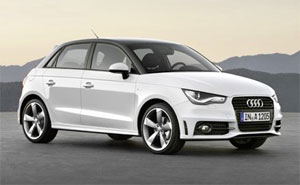 audi a1 sportback modell 2012. Black Bedroom Furniture Sets. Home Design Ideas