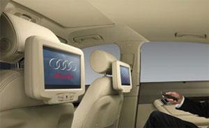 mmi plus mit sd karte rear seat entertainment sta. Black Bedroom Furniture Sets. Home Design Ideas