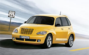 sonderedition chrysler pt cruiser route 66. Black Bedroom Furniture Sets. Home Design Ideas