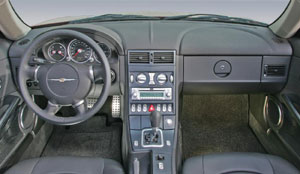 chrysler crossfire interieur paket exclusive