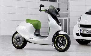 smart escooter elektro roller auf dem pariser autosalon 2010. Black Bedroom Furniture Sets. Home Design Ideas