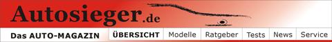 Autosieger.de - Alles zum Thema Auto, Autokatalog, ausführliche Tests, Kaufberatung, Erlkönig-Berichte, CO2 & Umwelt, Formel 1 und News